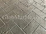 Travertine Stone Stamped Concrete. Stamp Mat Set SM 6100