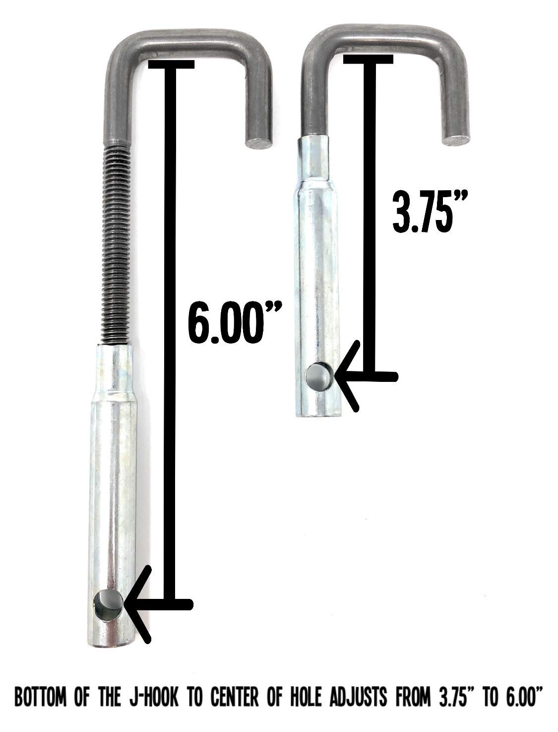 Universal Stainless Steel Muffler Hanger Kits 3.25-4 Diameter