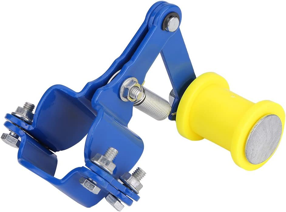 Tendeur de cha/îne tendeur de cha/îne de r/églage MAGT boulon sur rouleau moto accessoires accessoires universel outil Bleu
