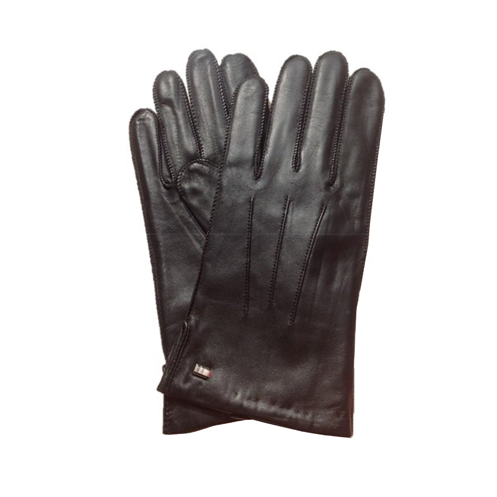 MoDA Mr London Men's Genuine Leather Gloves Warm Wool Lining Driving Gloves C0096A-Brown-XL