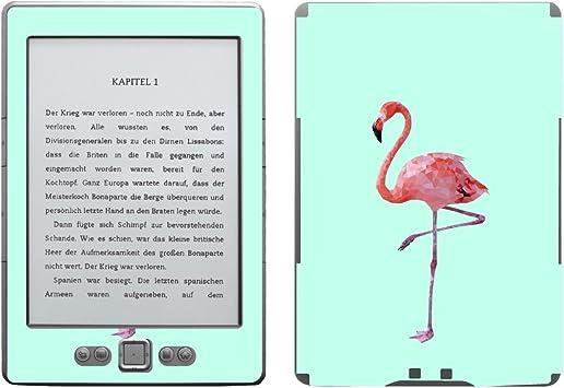 Disagu SF de 103567 _ 1091 Diseño Protector de Pantalla para Amazon Kindle 4 eReader – Diseño Flamingo Azul Transparente: Amazon.es: Informática