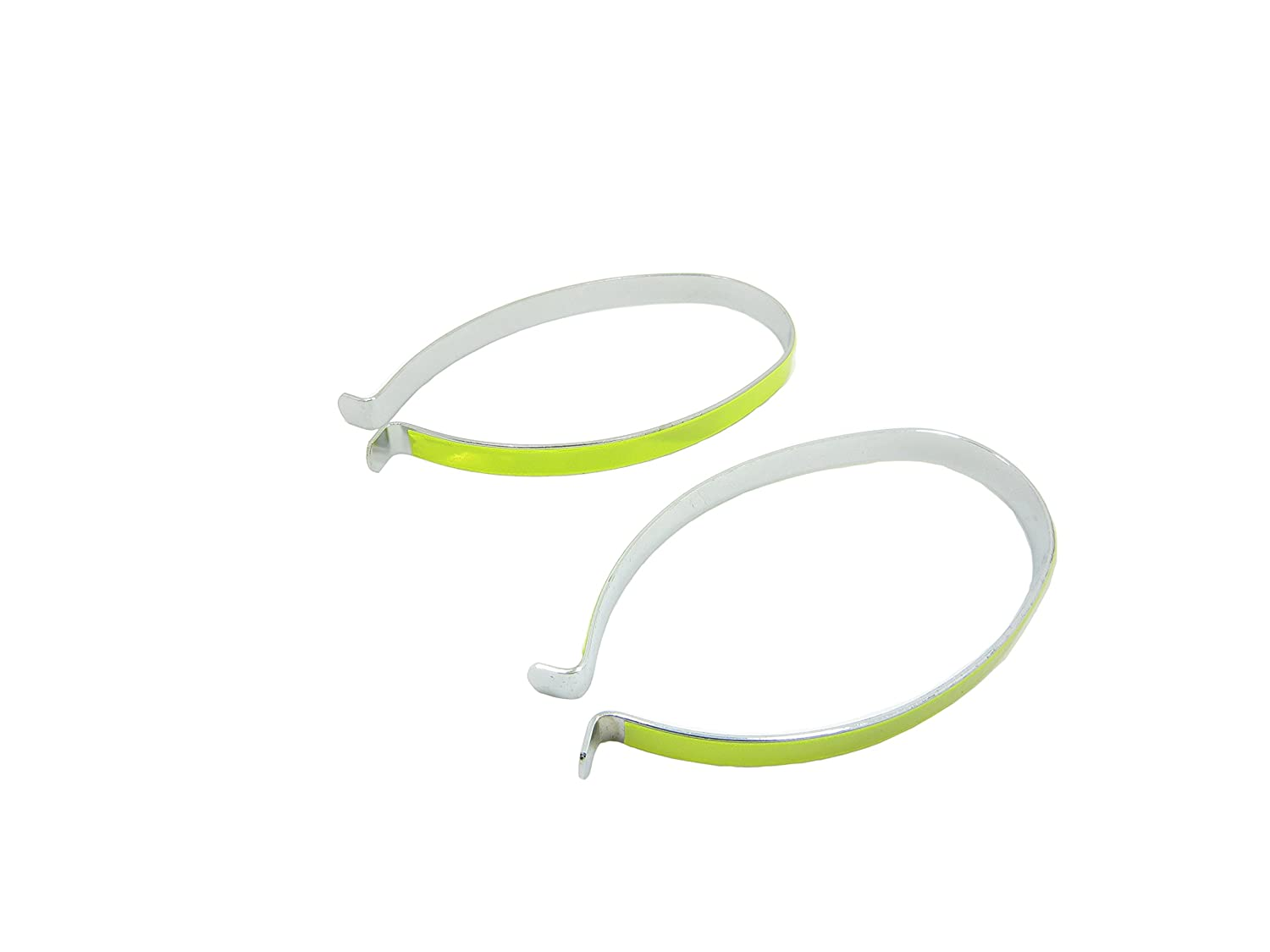 High Reflective Trouser Pant Safety Metal Clips,Pant Leg Cuff Clips Bike Bicycle 1 pair