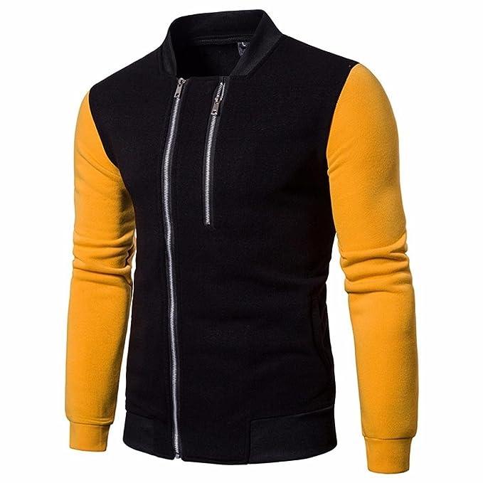 ♚Btruely Herren Moda Chaqueta de Abrigo con Cremallera y Manga Larga Sudadera para Hombre Pullover: Amazon.es: Ropa y accesorios