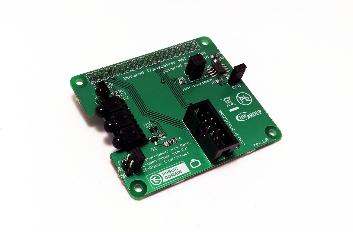 Amazon com : Irdroid-Rpi infrared transceiver for Raspberry Pi