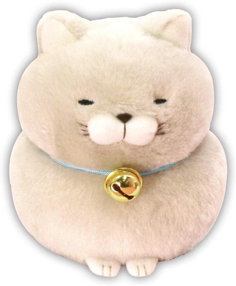 Giant Shark Plush, Amazon Com Amuse Higemanjyu Series Plush Cat Doll Standard Size 5 X 4 X 5 Japan Import Stuffed Animal Toy Japanese Popular Cat Cute Fluffy Comfortable Doll Plush Gray Hotoke Standard Toys Games