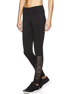 e5d04e3e5fff Reebok Women s Legging Full Length Fleece Lined Performance Compression  Pants