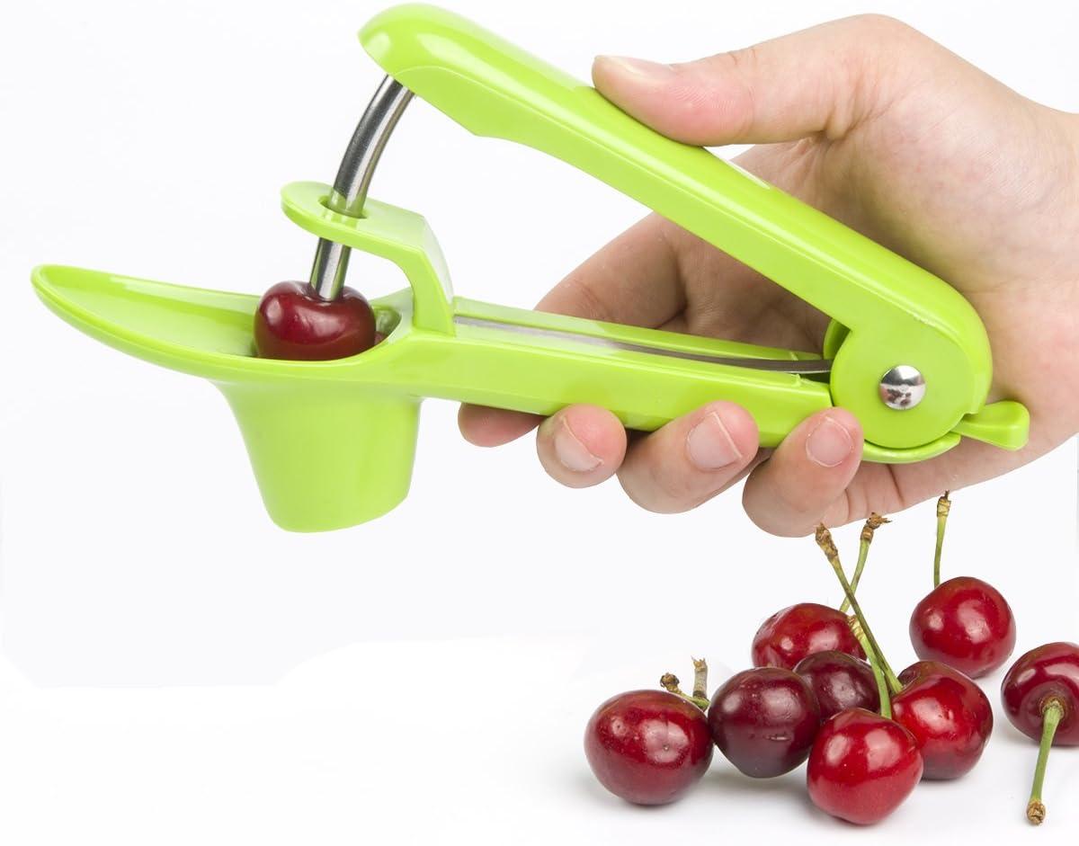 Black Cherry Pitter Tool,SSlife Olive Pitter Remover