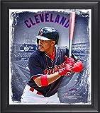 "Best Sports Memorabilia Sports Memorabilia Collage Makers - Francisco Lindor Cleveland Indians Framed 15"" x 17"" Review"
