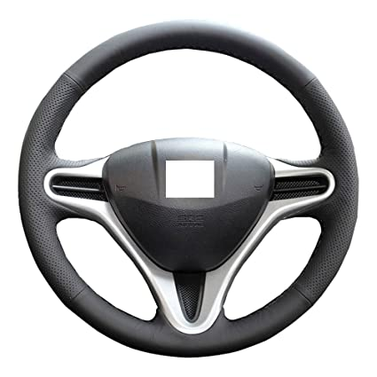 Eiseng Steering Wheel Cover For 2009 2010 2011 2012 2013 Honda Fit  Hatchback / For 2010