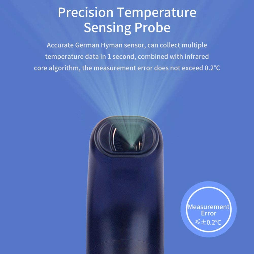 8QzJs1Tg Baby IR Infrared Non Contact Forehead LCD Digital Thermometer Temperature Tester Convenient Time Saving Replacing Traditional Mercury Thermometer