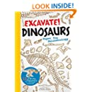 Excavate! Dinosaurs: Paper Toy Paleontology