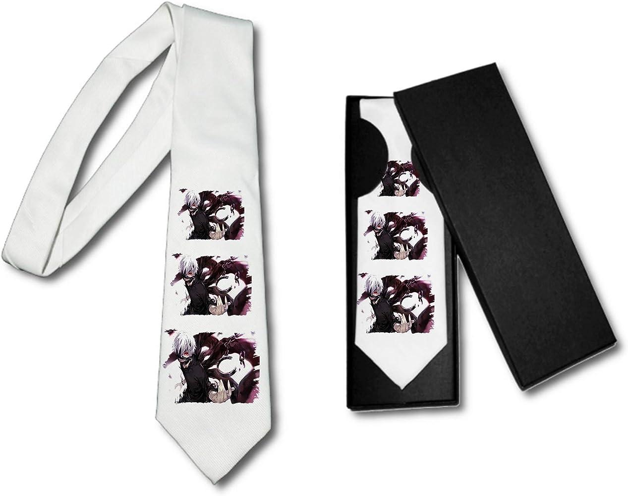 Corbata Elegante Tokyo Ghoul HEROE Anime Vampiro Suave Poliester ...