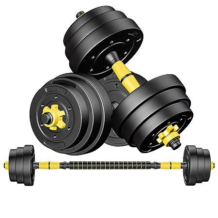 WSC Mancuernas de Goma, Mancuernas de Fitness para Hombres 10KG ...