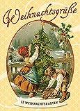 12 schöne nostalgische Weihnachtskarten