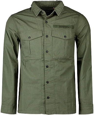Superdry Field Edition Camisa Hombre Utility Drab: Amazon.es ...