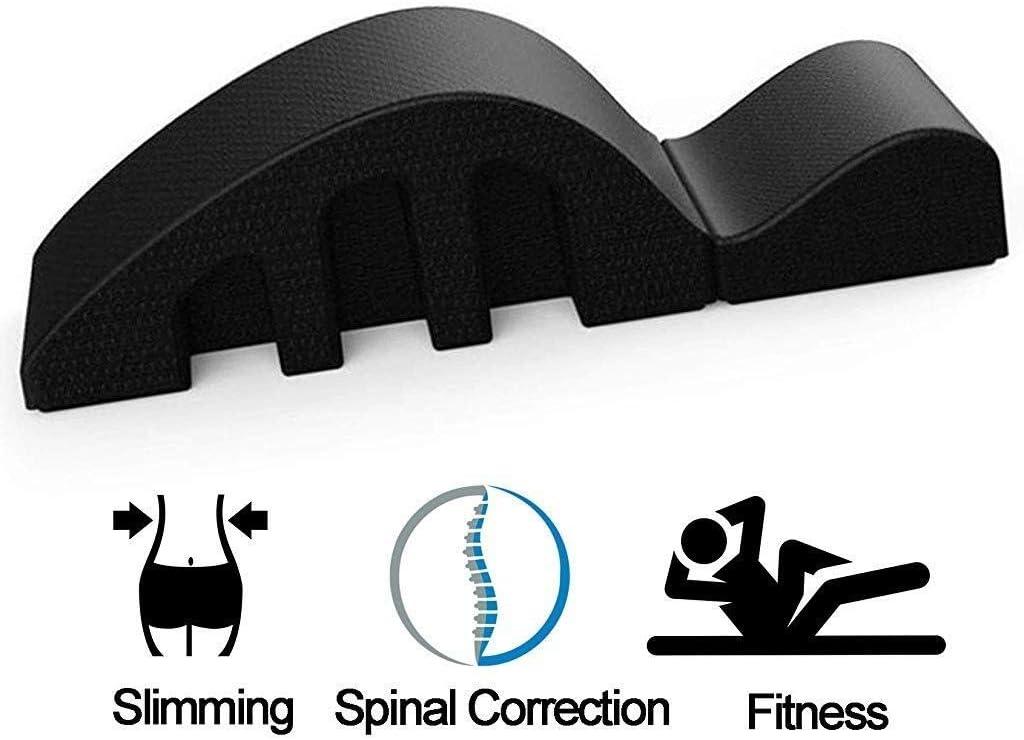 YF-SURINA Equipo deportivo Cama de masaje Pula Mesa de masaje curvada Corrector de columna Órtesis militar Corrección de columna Ayuda a mejorar la postura y ajusta el arco de curva