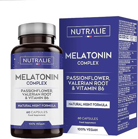 Melatonina nutralie pura 1,8mg con valeriana e tiglio | NUTMEL60