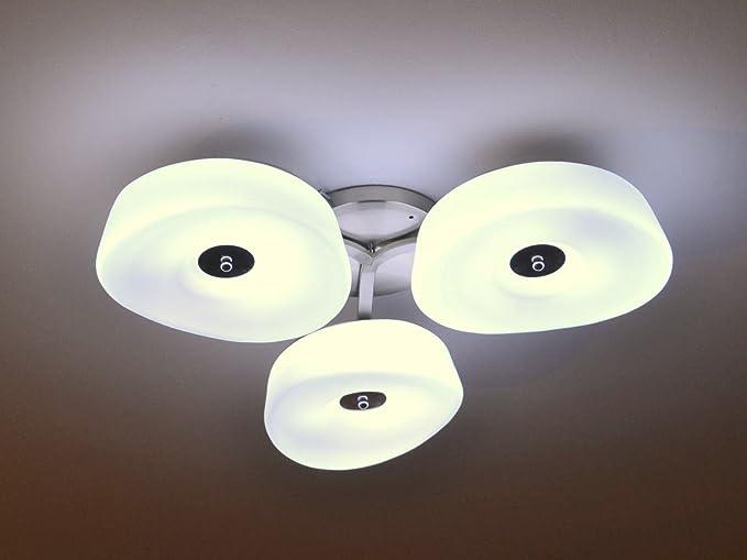 Lampada da soffitto fiore 3 designer plafoniera lampada luce