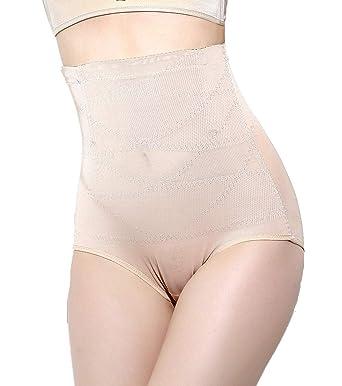 79f672133b Vaslanda Women s Seamless High Waisted Tummy Control Shapewear Underwear  Shorts Butt Lifter Body Shaper Beige