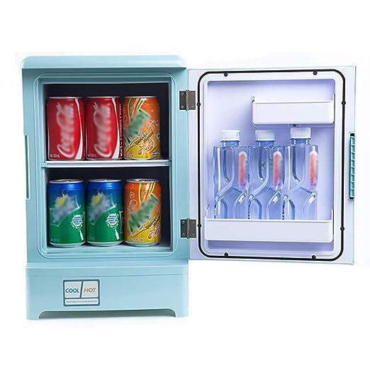 Dvuboo Mini frigorífico, Minibar Pequeño, 15 litros, Temperatura ...