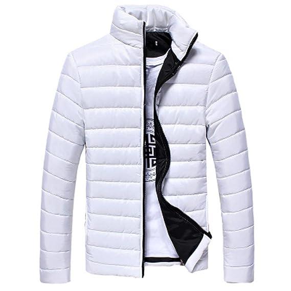 Cappotto da Uomo Inverno, BeautyTop Piumino Invernale Autunno Giubbotto Giacchetta Giacca Manica Lunga Felpa Uomo Elegante Caldo Invernale Cappotto