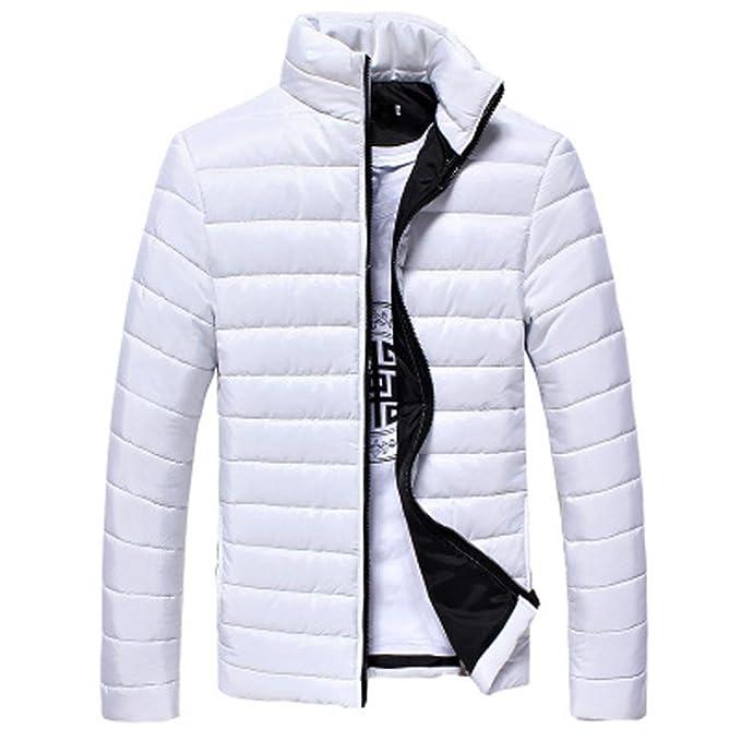 in stock bb235 10e47 Cappotto da Uomo Inverno, BeautyTop Piumino Invernale Autunno Giubbotto  Giacchetta Giacca Manica Lunga Felpa Uomo Elegante Caldo Invernale Cappotto  ...