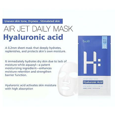 Buy [BOTANIC HEAL BOH] Air Jet Daily Mask Sheet Pack of 8