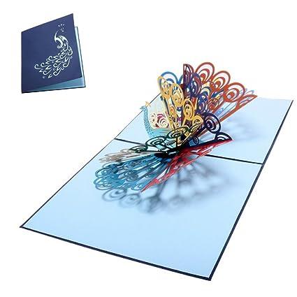 Ogquaton Tarjetas de felicitación en 3D Tarjeta emergente de ...
