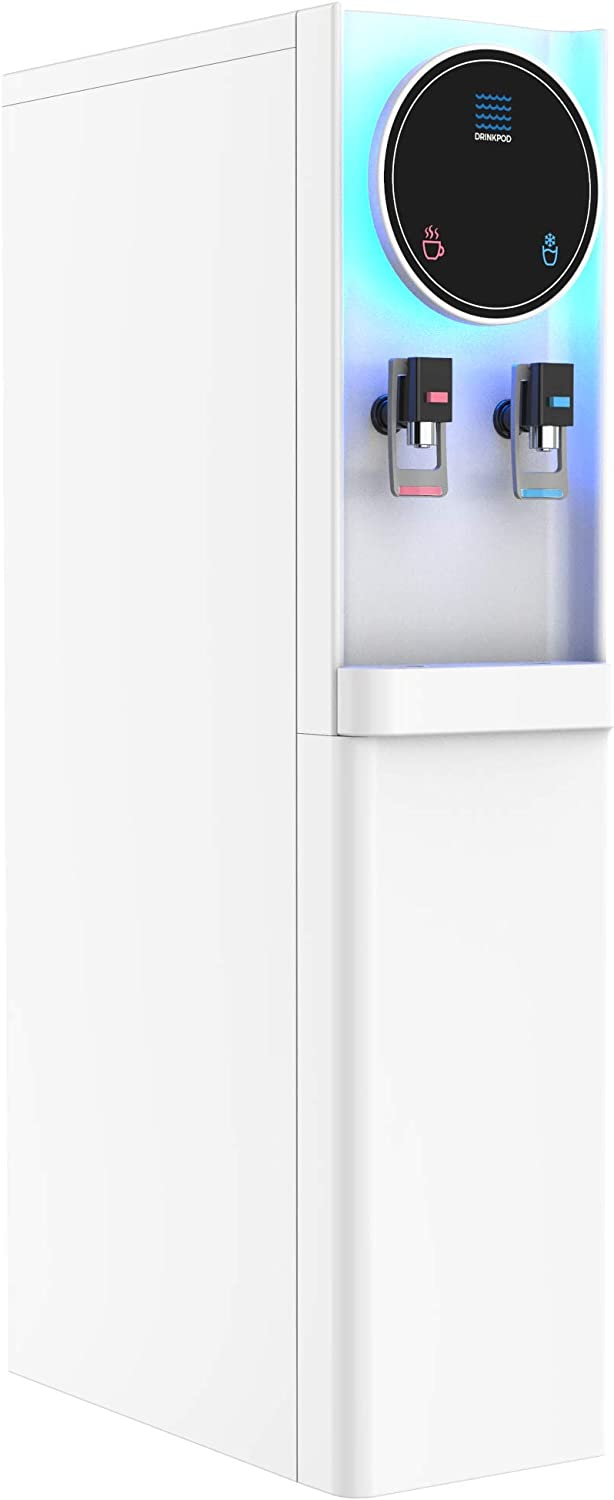 Bottleless Water Cooler Hot and Cold Water Dispenser For Offices & Homes (WHITE)
