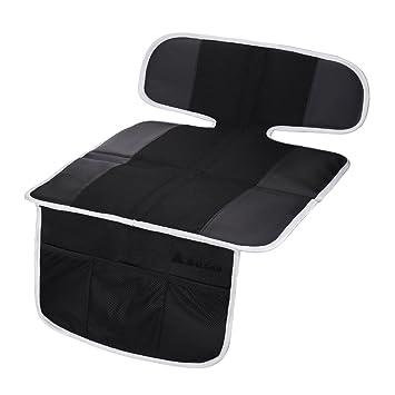 Salcar Protector de asiento de coche para bebe Antideslizante, Protección para niño y asientos de