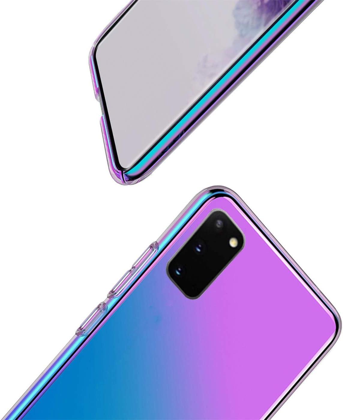 Carcasa Ultra Delgado Juego de Colores Protecci/ón Funda Verco Funda para Samsung Galaxy S20 Ultra