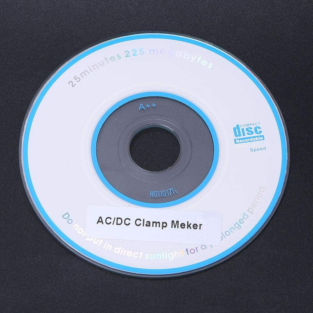 ETCR6100 0.0A-600A Haute Pr/écision DC//AC LCD Num/érique Pince Amp/èrem/ètre Testeur Instrument Pince Amp/èrem/étrique