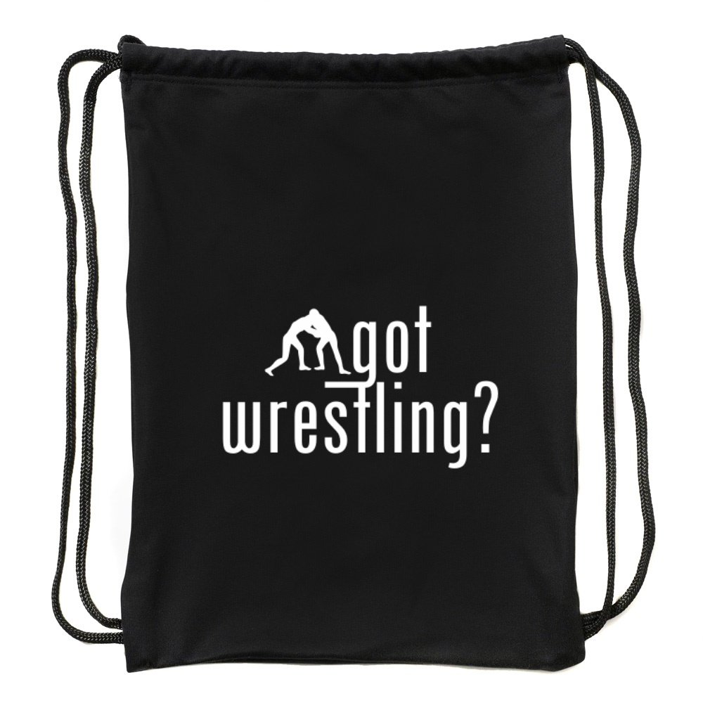 Eddany Got Wrestling? silhouette Sport Bag by Eddany