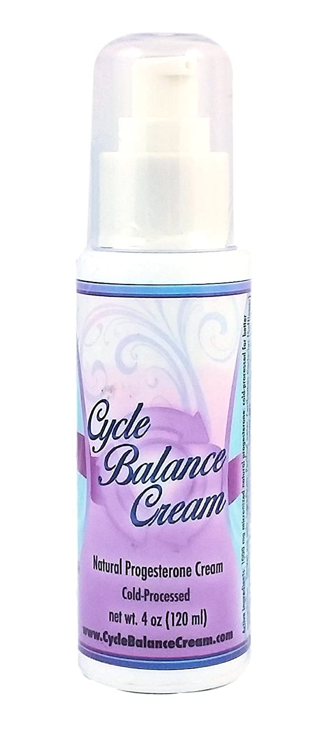 Cycle Balance Progesterone Cream - Bioidentical and Bioavailable - Supports  Hormone Balance in