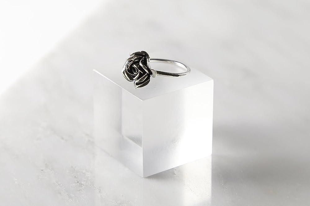 Bohemian Jewel Anniversary Gift Cute Flower Ring Delicate Flower Ring wedding gift Art Nouveau Bronze Flower Ring bridesmaid gift