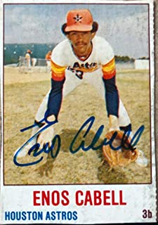 product image for Enos Cabell Autographed 1978 Hostess #9