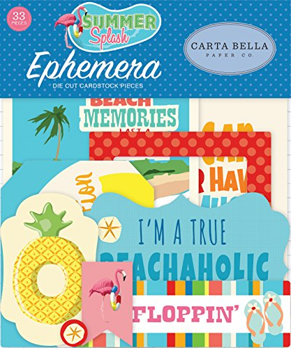 Carta Bella Paper Company Summer Splash Ephemera