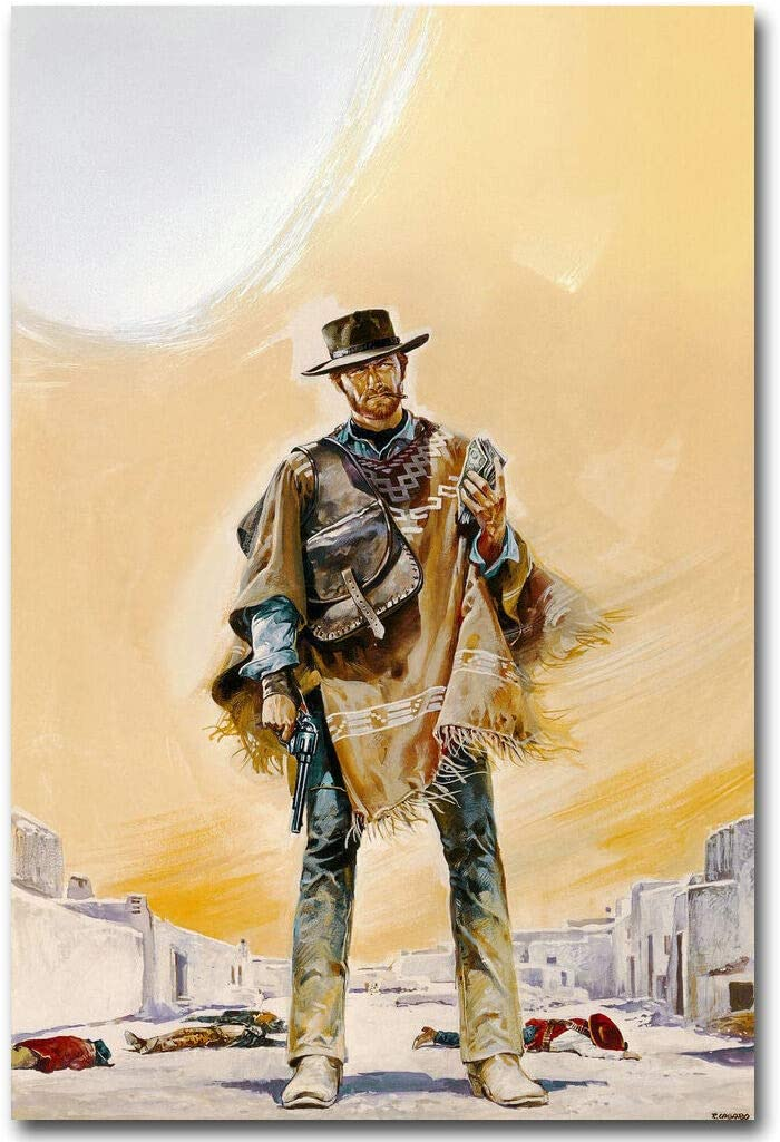 Clint Eastwood Poster 24x36 inch rolled wall poster