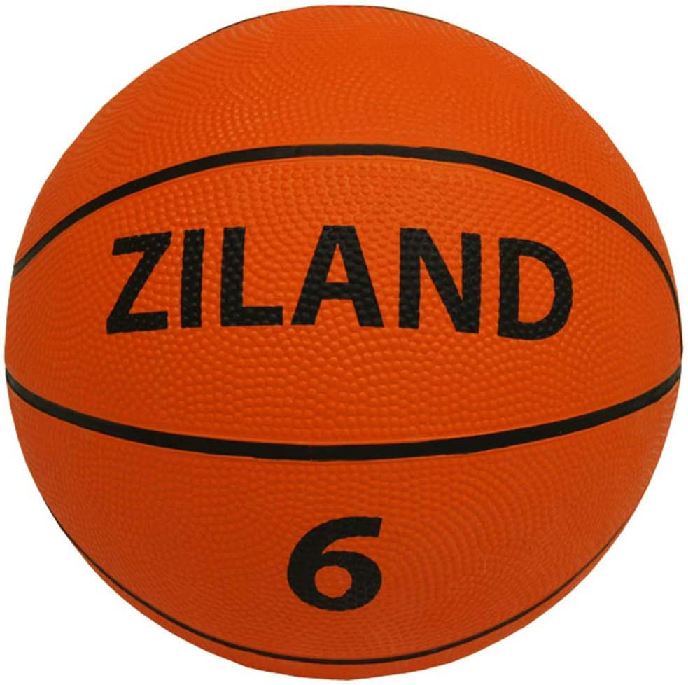 Ziland Training Basketball /• 12 Pack /• Includes Carry Basketball Bag /• Ideal for Schools Club Training Basketball
