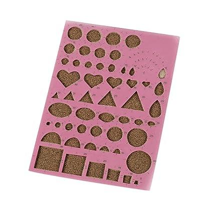 Espeedy Papier Quilling Diy Papier Quilling Pochoir Planche De Moules Outils Art Bricolage Artesanias Livre De Souvenirs D Outils