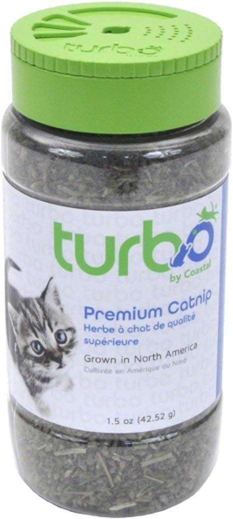 Amazon Com Turbo By Coastal Pet Premium Catnip 1 5 Ounce Pet