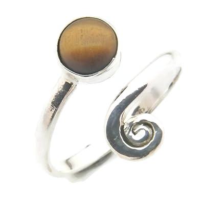 Ring 925 sterling silver Labradorite adjustable (MRI 10) gJmRC4nQn