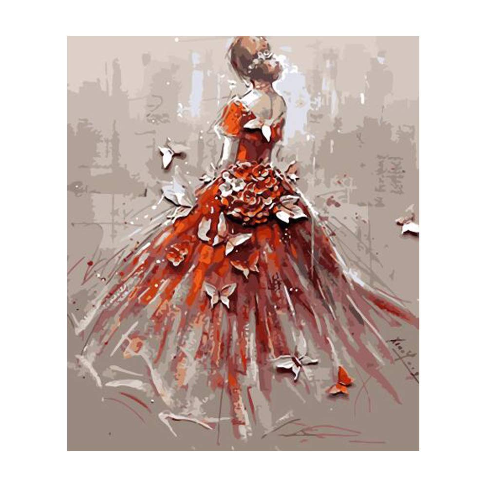 Pintura por Numeros (ITM-4946) mujer