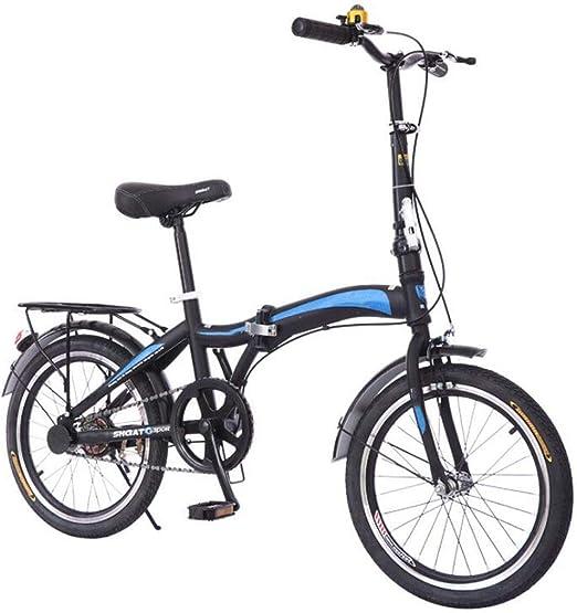 GHGJU Bicicleta portátil Bicicleta Mini Bicicleta Plegable Bicicleta de Velocidad Variable amortiguación para Caminos de montaña y Caminos de Lluvia y Nieve Esta Bicicleta es Plegable: Amazon.es: Hogar