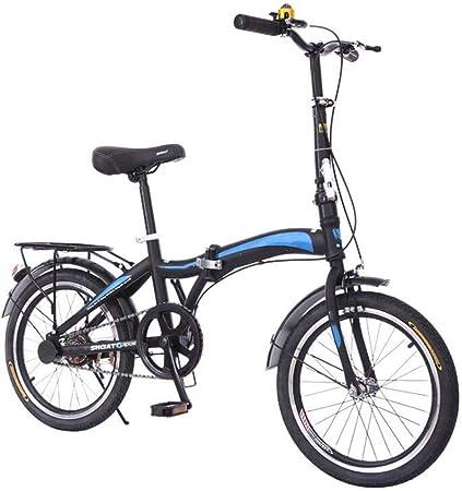 GHGJU Bicicleta portátil Bicicleta Mini Bicicleta Plegable ...