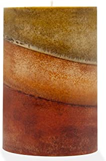 product image for Wicks N More Amish Harvest Scented Pillar Candles (4x6)