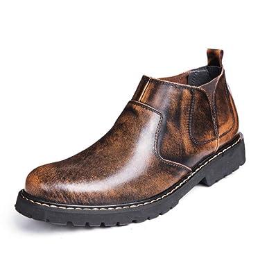 Botas Martin Para Hombre Botas Chelsea Calzado Casual Botas Cortas Botines Al Aire Libre Botas DeséRticas Zapatos De Vestir De Negocios: Amazon.es: Ropa y ...