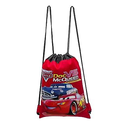 Disney Cars Red Drawstring Bag