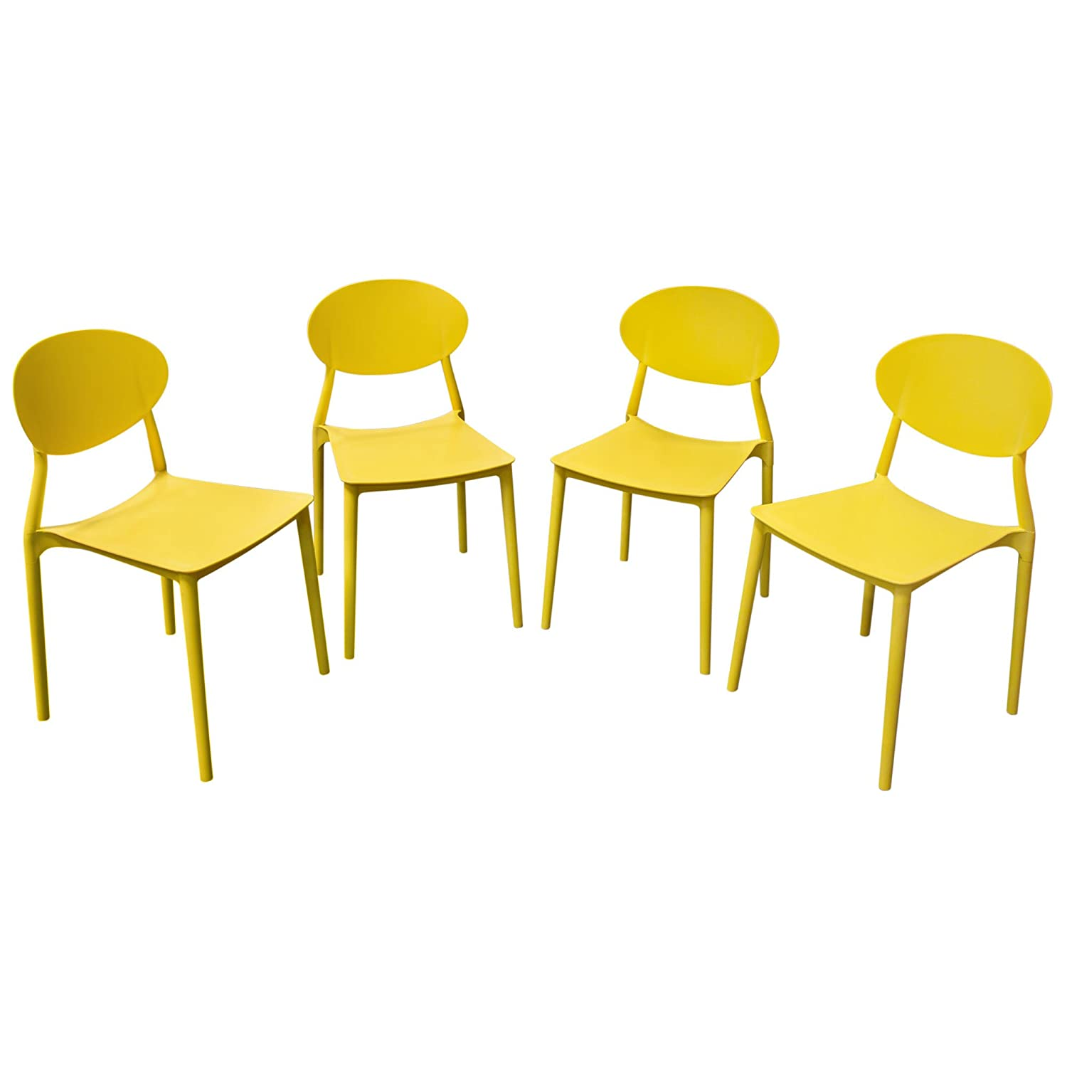 Super Amazon Com Pixel 4 Pack Indoor Outdoor Accent Chairs In Gmtry Best Dining Table And Chair Ideas Images Gmtryco