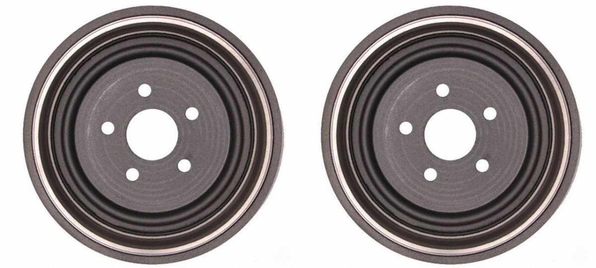 Prime Choice Auto Parts D90109PR Rear Brake Drum Pair